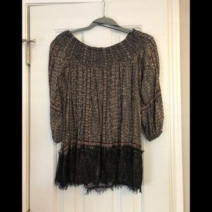 Anthropology Blouse by Vanessa Virginia - Size S
